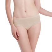 LADY 超彈力親膚無痕系列 中腰低衩三角褲 (膚色)