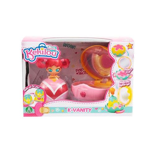 《 Kekilou 》K-VANITY 時尚驚喜提包-豪華遊戲組(隨機出貨)╭★ JOYBUS玩具百貨