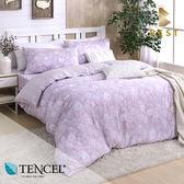 天絲床包兩用被四件式 加大6x6.2尺 芳雅(粉)  100%頂級天絲 萊賽爾 附正天絲吊牌 BEST寢飾