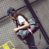 旅行包女手提行李包男韓版大容量牛津布短途旅行袋輕便防水健身包