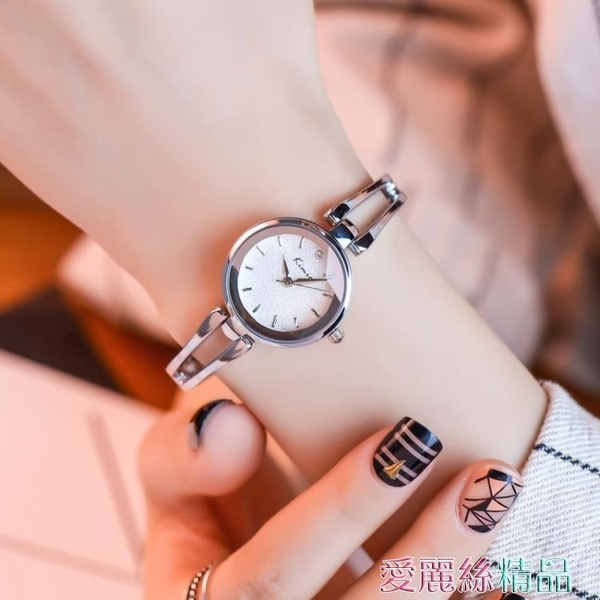 手錶正品手錬手錶韓版女學生簡約手鐲錶潮流時尚女士腕錶禮物交換禮物