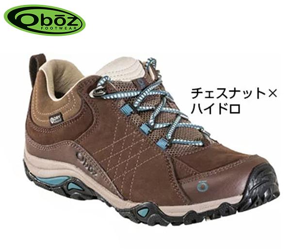 丹大戶外【Oboz】美國Sapphire Low 女款 防水戶外低筒登山鞋 OB71602 CHHY 栗色/水藍