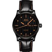 MIDO 美度 Multifort 先鋒系列典藏機械錶-黑/42mm M0054303605180