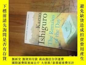 二手書博民逛書店Kazuo罕見lshiguro The Remains of the DayY16129