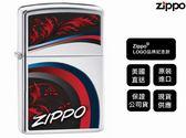 【寧寧精品】Zippo 原廠授權台中30年旗艦店 終身保固 防風打火機 Zippo LOGO品牌紀念款 4377-1