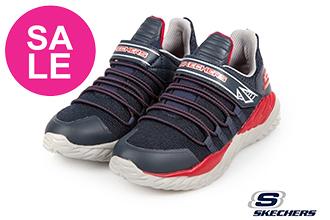 Skechers NITRO SPRINT 男童運動鞋 中大童 超人聯名 慢跑鞋 Q8272#藍色◆OSOME奧森鞋業