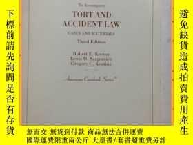 二手書博民逛書店英文書罕見teacher s manual tort and accident law 教師手冊侵權與事故法Y