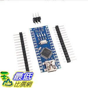 [9玉山最低比價網] 2014版本 Arduino Nano V3.0 ATMEGA328P 改進版 無焊接板