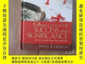 二手書博民逛書店英文書;SUCCESS罕見& SIGNIFICANCE QUBE