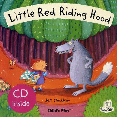 【麥克書店】LITTLE RED RIDING HOOD/英文繪本附CD《童話故事:小紅帽》
