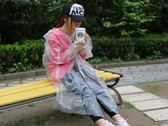 10入薄型拋棄式雨衣 一次性雨衣 便攜雨衣 臨時雨衣 顏色隨機出貨【YX160】《約翰家庭百貨