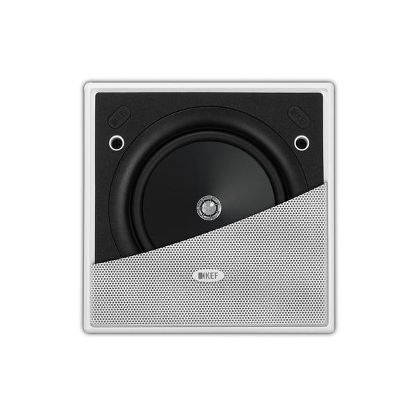 超薄邊框設計《名展影音》英國 KEF Ci130.2CS 方型崁壁式揚聲器喇叭 / 支