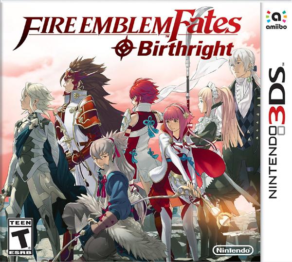 3DS Fire Emblem Fates: Birthright 聖火降魔錄 if 白夜王國(美版代購)