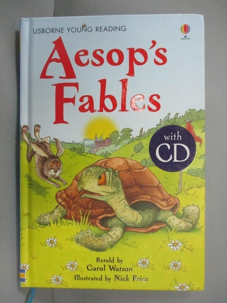 【書寶二手書T1/原文小說_NEE】Aesops Fables (Young Reading CD Packs)_Carol Watson