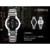 力抗LICORNE菱角切面水晶玻璃腕錶 藍寶石鏡片手錶 氣質典雅 柒彩年代【NE554】LI003LWWA
