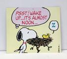 【震撼精品百貨】史奴比Peanuts Snoopy ~SNOOPY 大卡片-鳥巢黃#43742