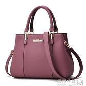 新款女包兩用媽媽手提包中年女士小包簡約手拎單肩斜挎皮包包 可然精品