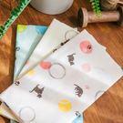 H427 日本製 純棉 貓咪毛線球毛巾 獨具衣格