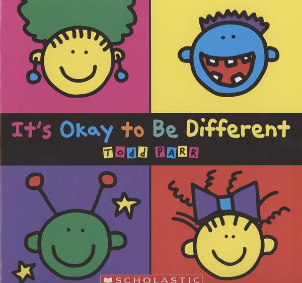 【麥克書店】IT'S OKAY TO BE DIFFERENT /英文繪本 (主體: 情緒管理)