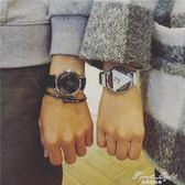 情侶手錶個性中性休閒復古歐美流情侶 果果輕時尚igo