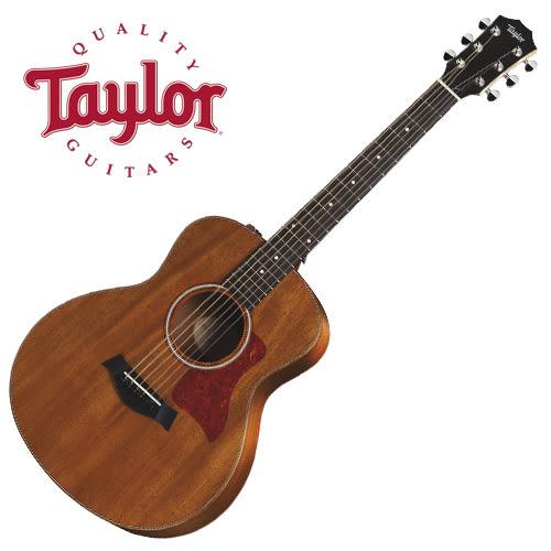 【敦煌樂器】TAYLOR GS MINI MAHOGANY 旅行民謠吉他/全球熱賣搶手小吉他 限量款式