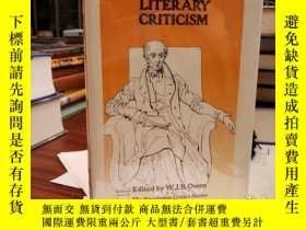 二手書博民逛書店Wordsworth s罕見Literary CriticismY94537 W.J.B. Owen Rout