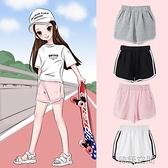 女童短褲外穿百搭薄款2021兒童洋氣運動褲純棉夏裝中大童夏季褲子