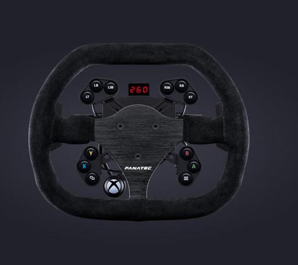 [2美國直購] fanatec 方向盤 ClubSport Steering Wheel Flat 1 V2 for Xbox