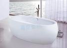 【麗室衛浴】BATHTUB WORLD 造型壓克力獨立缸 LS-1057F 180*90*60cm