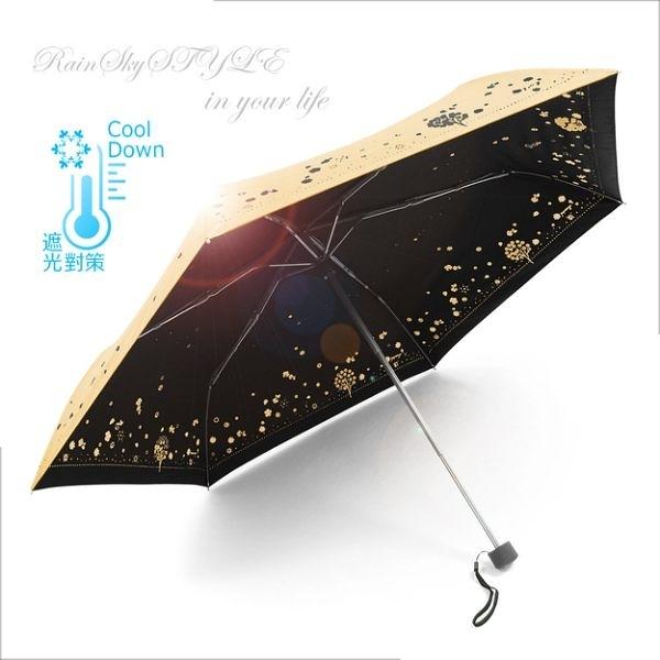 【超輕鈦金】四季花卉雙絲印-抗UV晴雨傘 /傘 UV傘 折疊傘 洋傘 陽傘 大傘 抗UV 防風 潑水+3