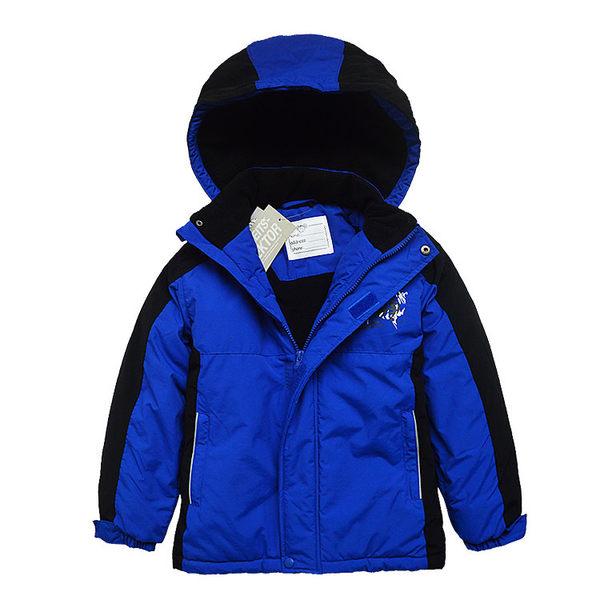 連帽防潑水防風厚外套 衝鋒衣 風衣 雪衣 中童 中性款 橘魔法 兒童保暖滑雪裝 現貨 滑雪