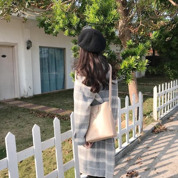 小方包女包包2020秋冬新款韓版復古時尚側背斜背pu小方包子母包女學生包 非凡小鋪