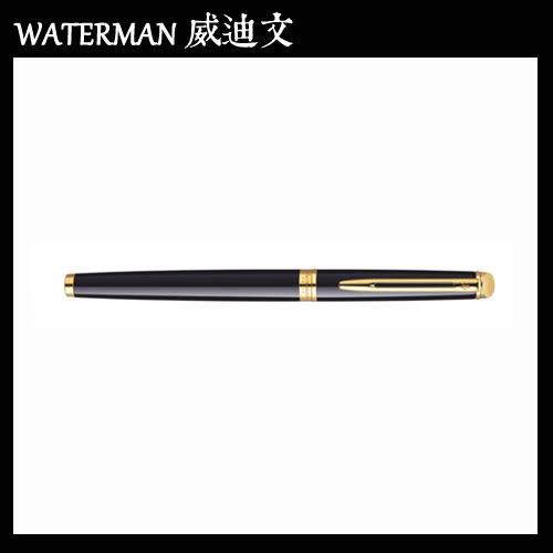 【MY】 WATERMAN HEMISPHERE 雋雅系列 黑桿金夾 鋼筆 F W0920600