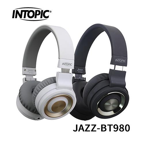 INTOPIC 廣鼎 JAZZ-BT980 藍牙摺疊耳機麥克風