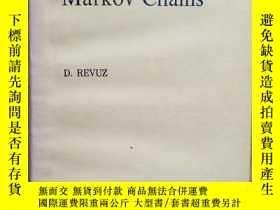 二手書博民逛書店Markov罕見Chains 馬爾可夫鏈 第2版 D.REVUZ