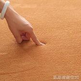 柔軟短毛絨臥室地毯客廳沙發地毯床邊毯簡約飄窗滿鋪超榻榻米地墊