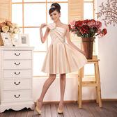45 Design 定做款客製化7 天到貨禮服伴娘服短款禮晚禮服小禮服表演服斜肩洋裝