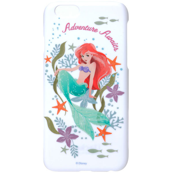 iJacket iPhone 6 / 6s 迪士尼 復古霧面硬式保護殼 - 小美人魚