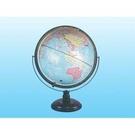《享亮商城》MS-217ANRW 17吋立體圖面地球儀(木座)