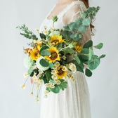 婚禮森系仿真新娘手捧花
