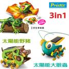 【寶工 ProsKit 科學玩具】太陽能野豬+太陽能大眼蟲+AI智能傘蜥蜴GE-682+GE-683+GE-892
