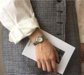 手錶女小巧網紅學生簡約韓版百搭復古錬條小錶盤手錬錶 9號潮人館