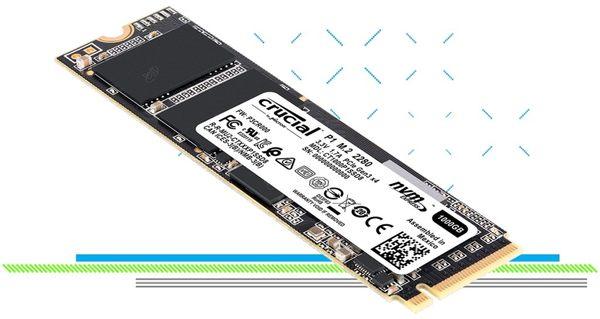 美光 Micron Crucial P1 1TB SSD