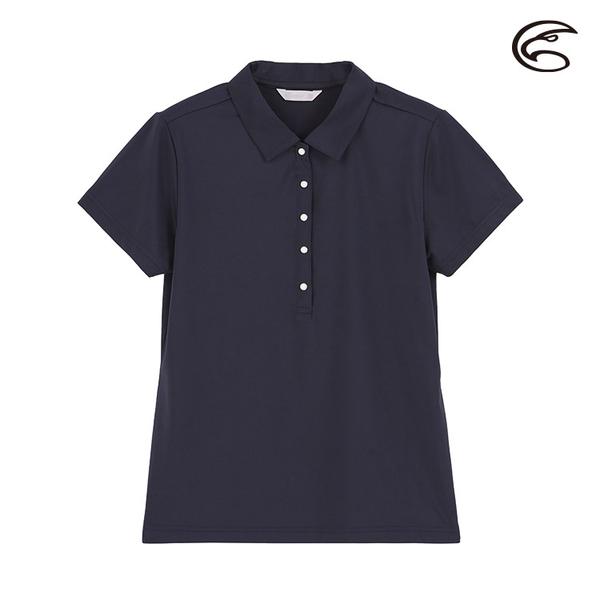 ADISI 女抑菌抗UV本布領POLO衫 AL2011020 (M-2XL) / 城市綠洲 (彈性、吸濕排汗、抗UV)