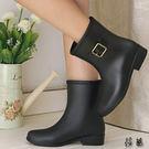 雨鞋 女雨靴  防滑 膠鞋套鞋【aa637】【預購】【莎芭】