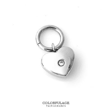 組合字母串珠手鍊 LOVE愛心鑲鑽鋼墜手環 抗過敏氧化 柒彩年代【NT11】CHARMS