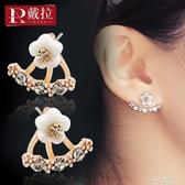 925銀針耳釘韓國耳飾耳環女氣質秋冬款網紅冬季2020新款潮耳夾  (pink Q時尚女裝)