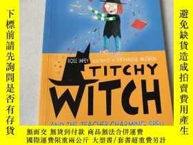 二手書博民逛書店TICHY罕見WITCH AND THE TEACHER CHARMING SPELL:tichy巫婆和老師迷人的