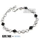 MOMA-【IZUMI】系列白鋼鍺磁手鍊...