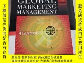 二手書博民逛書店GLOBAL罕見MARKETING MANAGEMENT 全球營